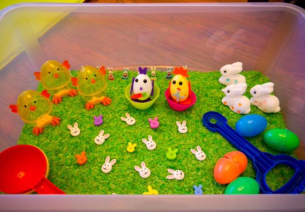 Easter Sensory Box Special Needs And Sensory Play Ideas